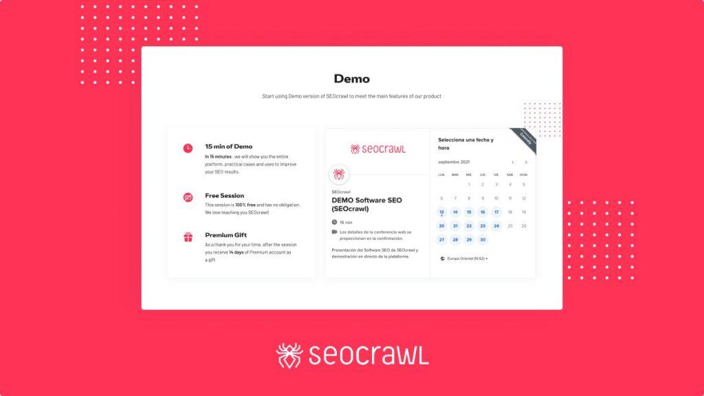 Demo SEOcrawl