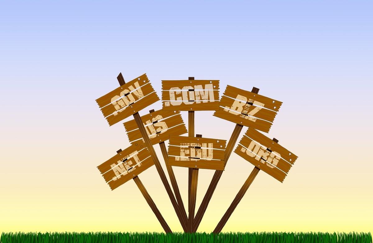 Nombres de dominios